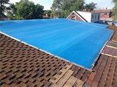 Blue Roof Tarp