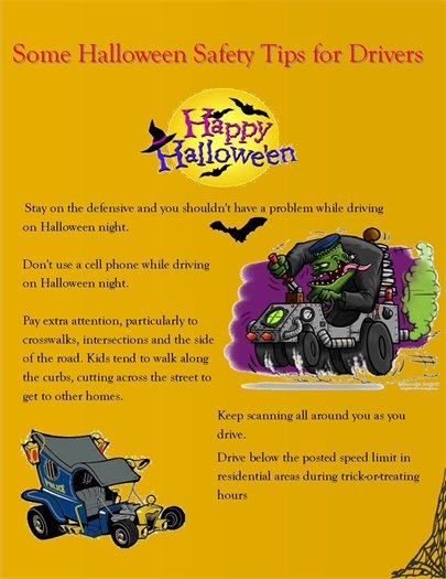 Halloween driving tips
