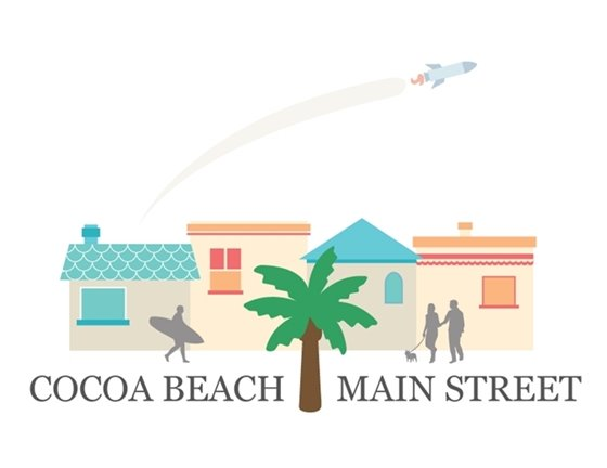 Cocoa Beach Main Street logo
