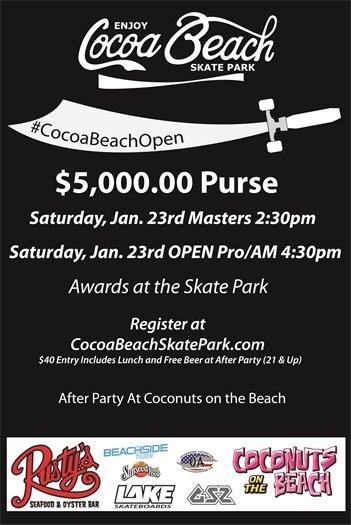 Cocoa Beach Open Skateboard