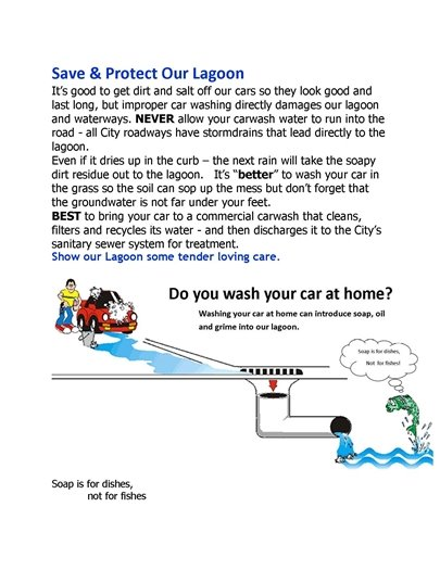 Save our lagoon!