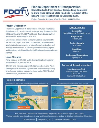 FDOT re-surfacing Project