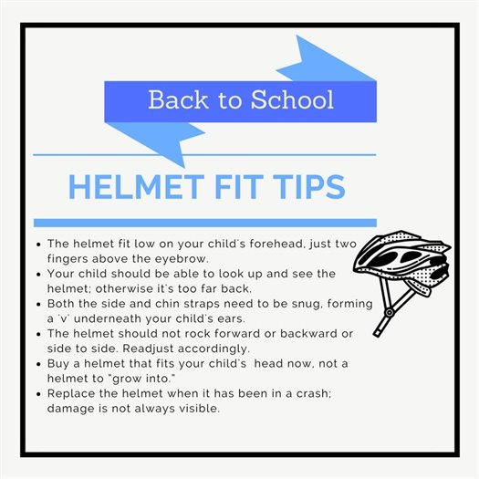 Bike helmet safety