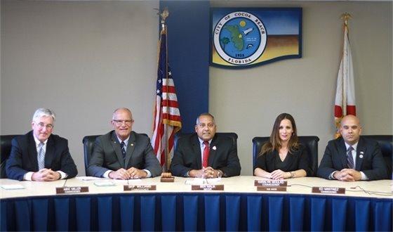 Cocoa Beach City Commissioners