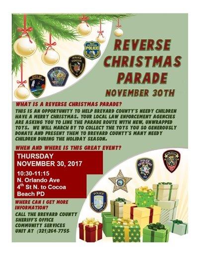 2017 Reverse Christmas Parade