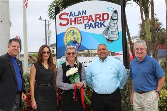 Shepard Park Sign