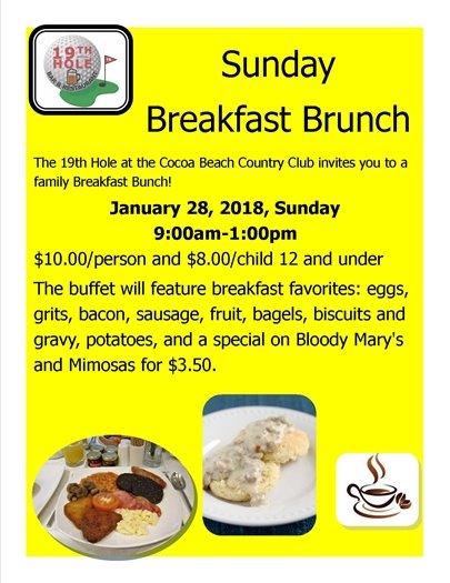 Sunday Breakfast Brunch