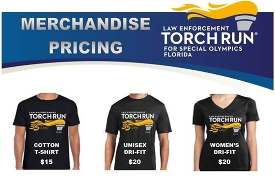 Torch Run Shirts