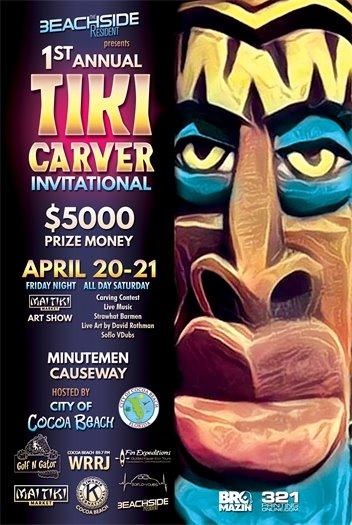 Tiki Carving