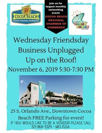 Wednesday Friendsday Vendor