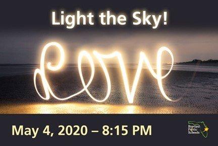 Light the night for teachers