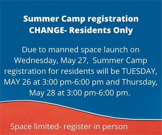 Date change on registration