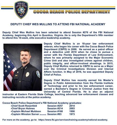 Dep. Chief Mullins