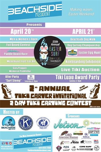 Easter Surf Contest 2019-Tiki Carvers