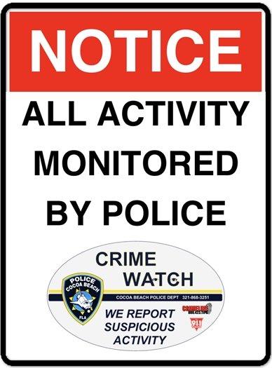 Skate park monitored
