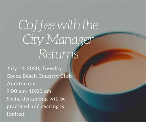 Coffee with the City Manager July 14