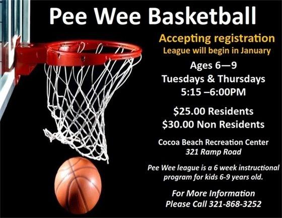 Pee Wee Registration