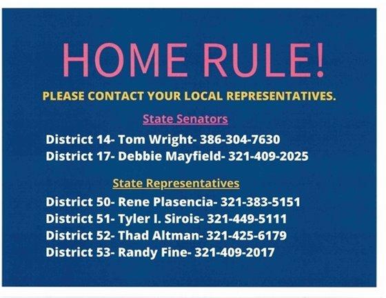 Call you representatives