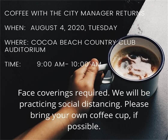 Coffee with the City Manager