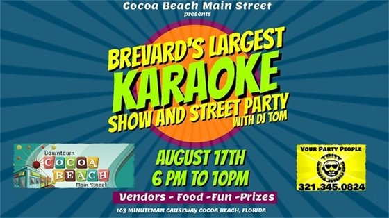 Brevards Largest Karaoke Show