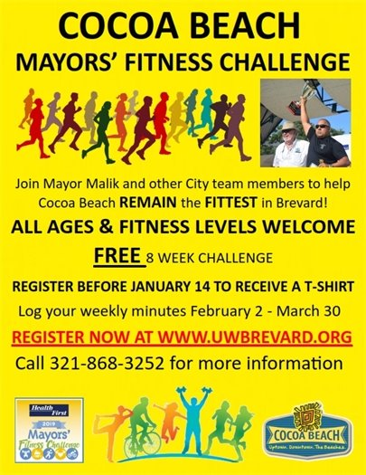 2019 Mayor's Fitness Challenge