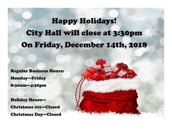 City Hall hours