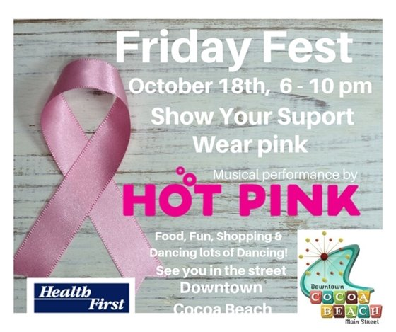 Friday fest 6-10pm Hot Pink performing