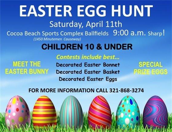 Easter Egg Hunt April 11