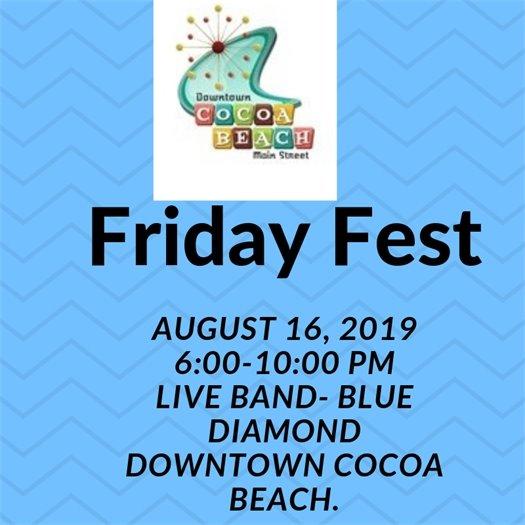 Friday Fest- CB Main St- Aug 16