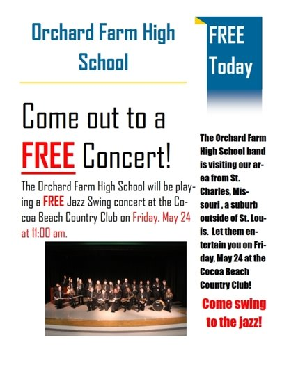 Free concert today