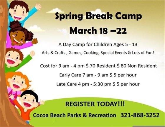 Spring Break kids camp