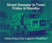 Street Sweeper in Town Friday (26) and Monday (29) - June 2020