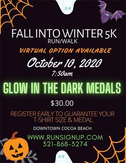 Fall into Winter 5K race