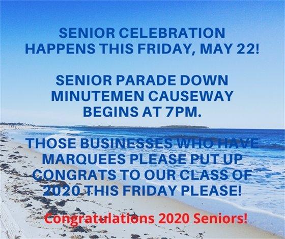 Celebrate our seniors