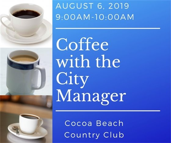 Coffee with CM August 6 9-10am CBCC