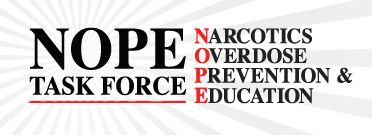 Narcotics Overdose Prevention and Education (NOPE) Logo