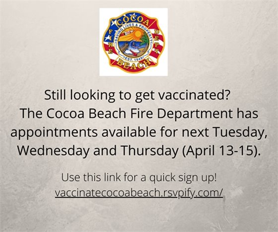Vaccine sign up!