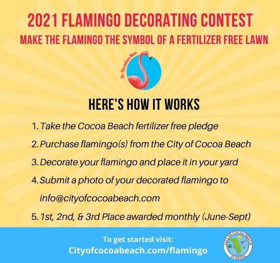 Be a Floridian Flamingo!