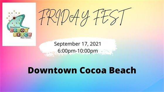 Friday Fest- September 17, 2021