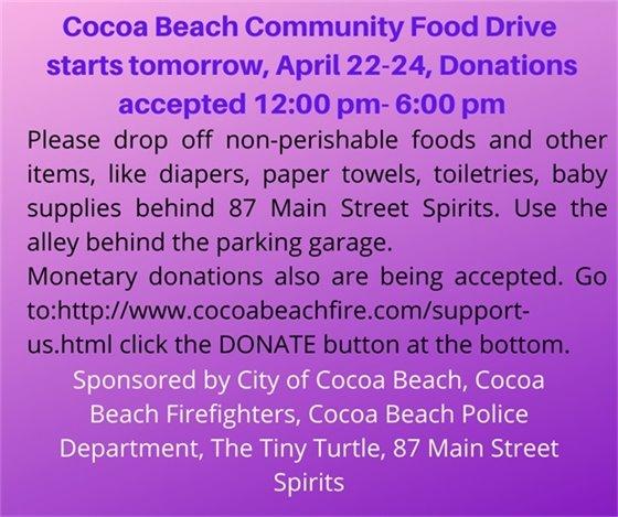 CB Community food drive