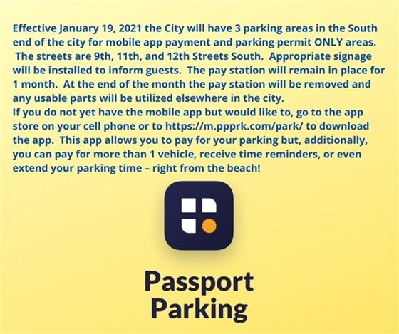 Use mobile app for parking