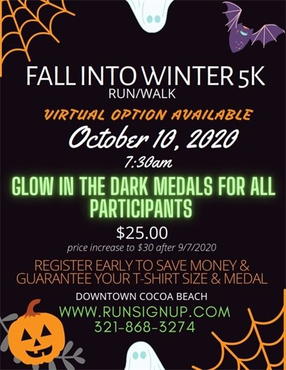 Fall into Winter 5K race