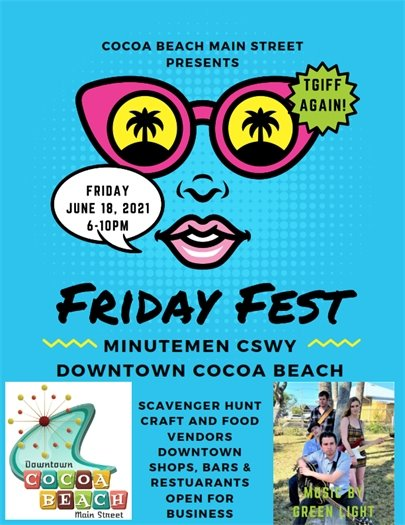 Friday Fest is back!