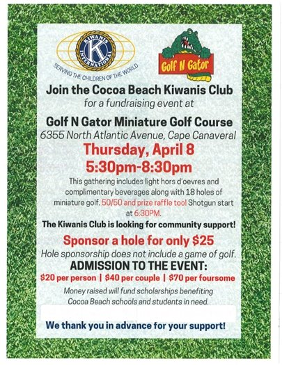 Kiwanis scholarship fundraiser