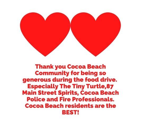 Thank you Cocoa Beach!