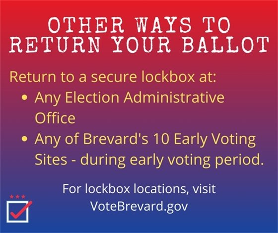 Returning your ballot