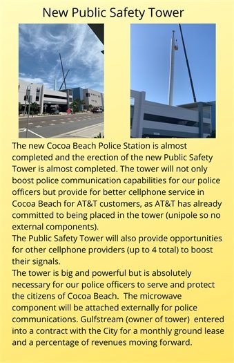 Safety Communication tower