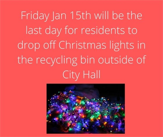 Recycle Christmas lights