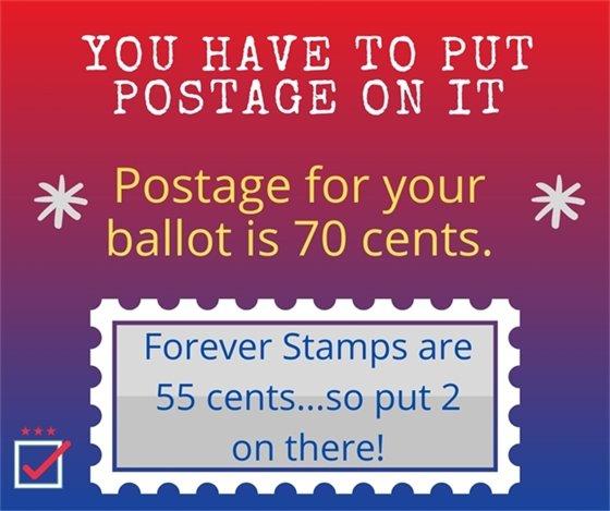 Postage information