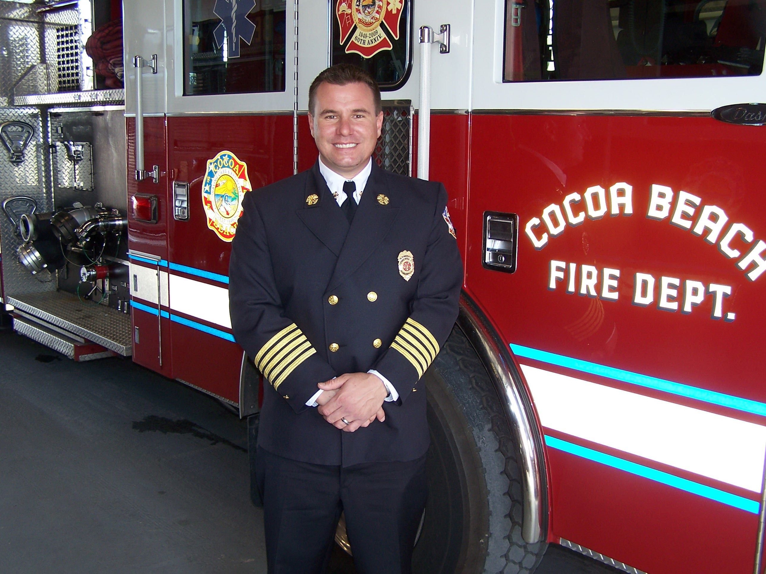 Fire Chief Ryan Duckworth